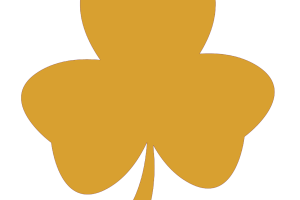Knoxville Catholic baseball shamrock