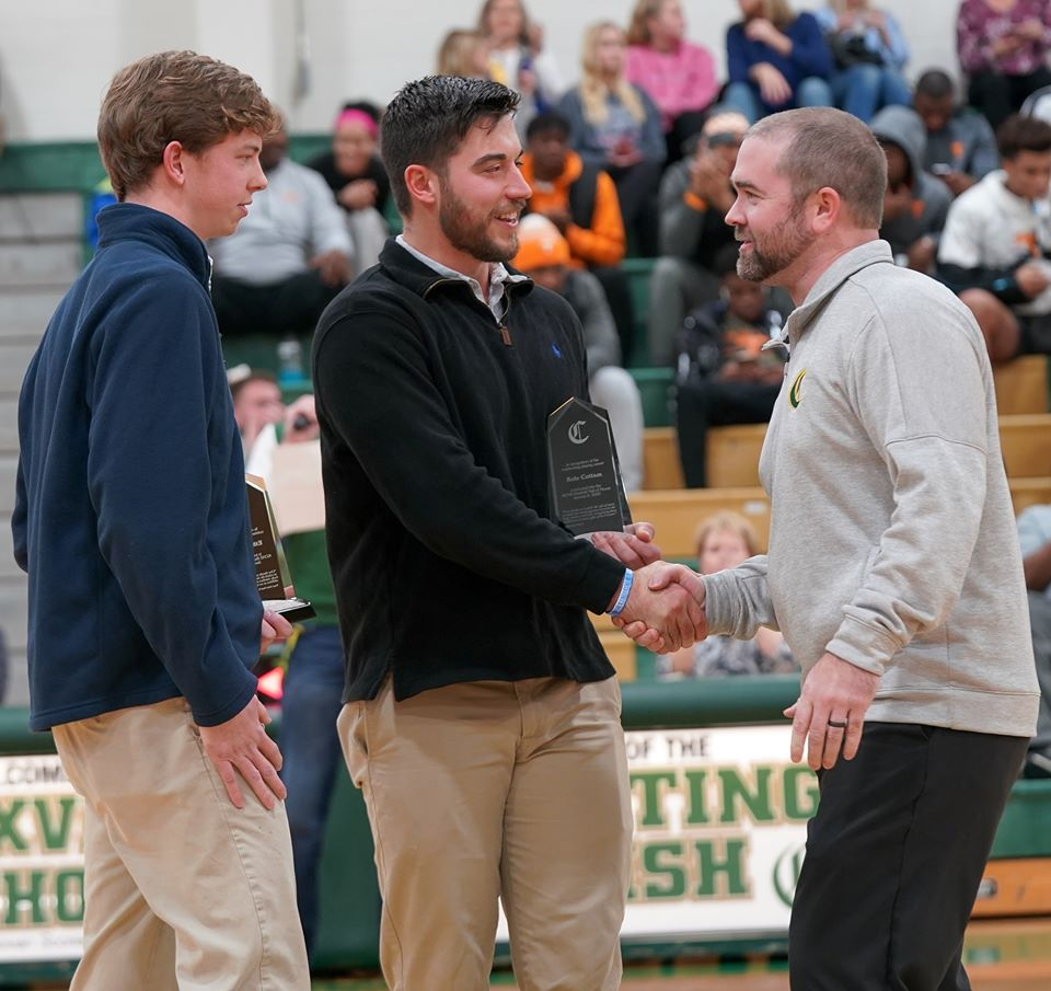 KCHS honors Ethan Elliott and Kole Kottam