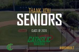 Thanks to 2020 Knoxville Catholic Baseball