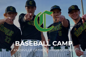 Knoxville Catholic baseball cap