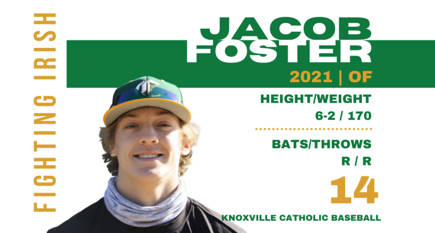 Jacob Foster, class of 2021
