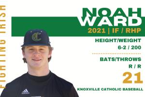 Noah Ward, Senior Knoxville Catholic Baseball